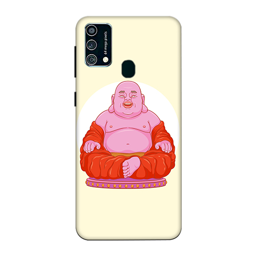 Laughing Budhha Mobile Phone Back Cover for Samsung Galaxy F41