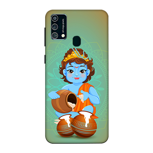 Kisna Makhanchor Mobile Phone Back Cover for Samsung Galaxy F41