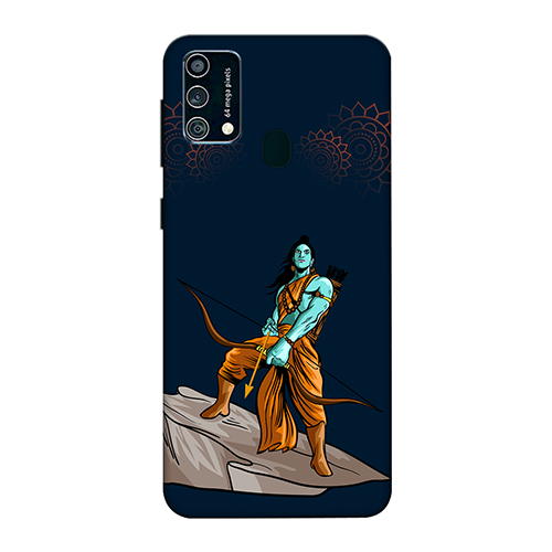 Dhanurdhari Ram Dark Mobile Phone Back Cover for Samsung Galaxy F41