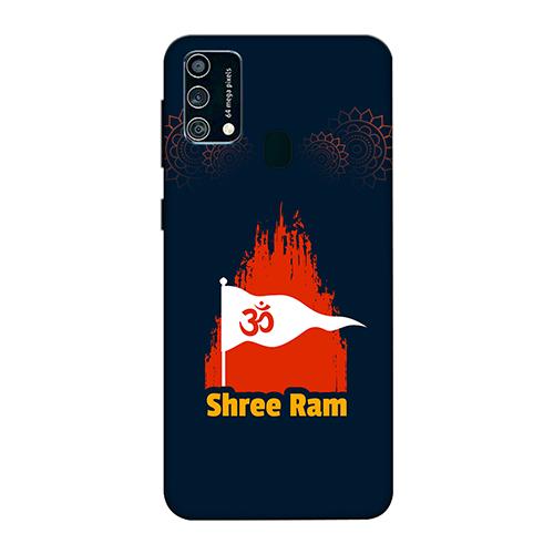 Shri Ram Dhvaj Mobile Phone Back Cover for Samsung Galaxy F41