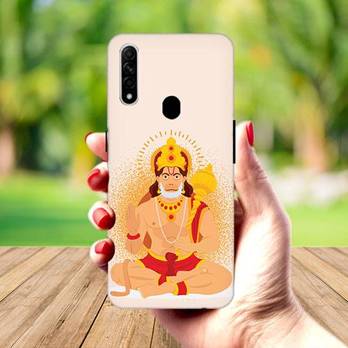 Bhakt Hanuman Mobile Phone Cover for Oppo A31
