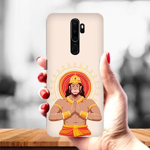 Jai Hanuman Mobile Phone Cover for Oppo A9