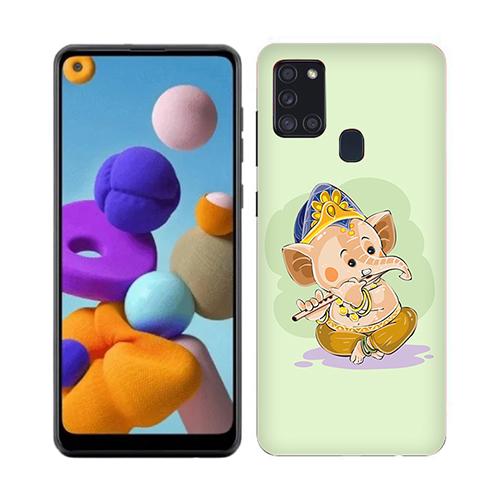 Nanhe Ganesha Phone Back Cover for Realme 7i