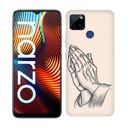 Prayer Sketch Mobile Phone Back Cover for Realme Narzo 20
