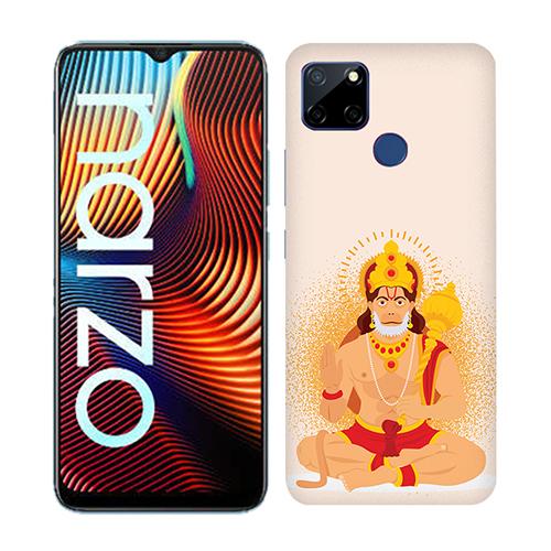 Bhakt hanuman Mobile Phone Back Cover for Realme Narzo 20