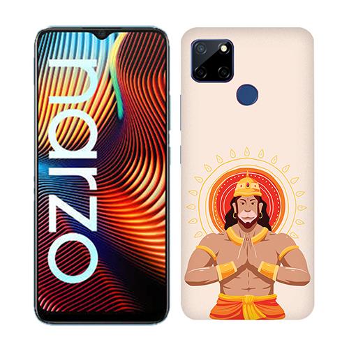 Jai Hanuman Mobile Phone Back Cover for Realme Narzo 20