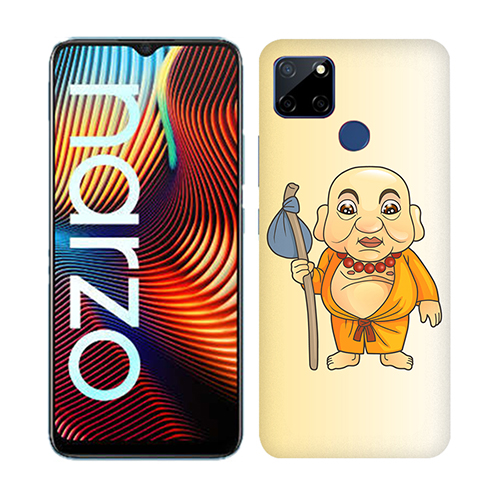 Walking Buddha Mobile Phone Back Cover for Realme Narzo 20