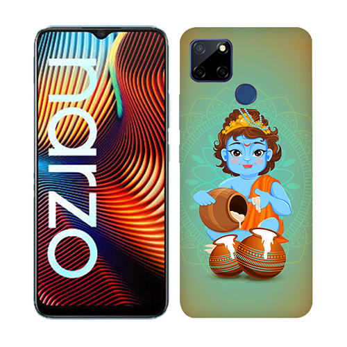 Krishna Makhanchor Mobile Phone Back Cover for Realme Narzo 20