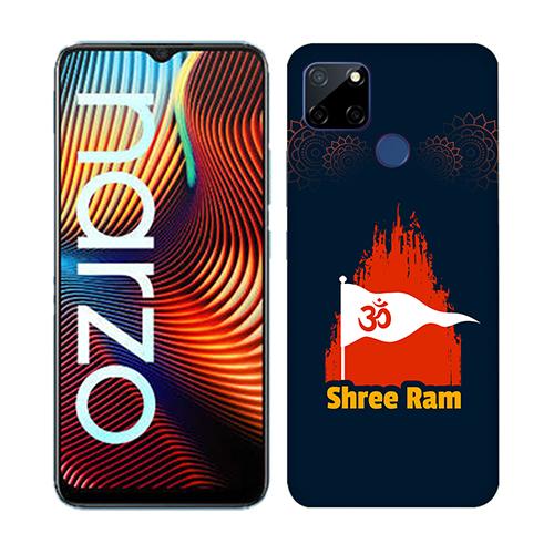 Shiv Ram Dhvaj Mobile Phone Back Cover for Realme Narzo 20