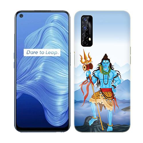 Shiv Kailash Mobile Phone Back Cover for Realme 7
