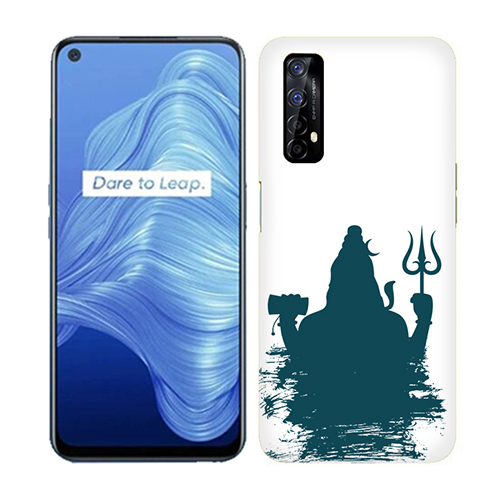 Shiva Blue Shadow Mobile Phone Back Cover for Realme 7