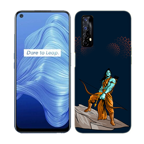 Dhanurdhari Ram Dark Mobile Phone Back Cover for Realme 7