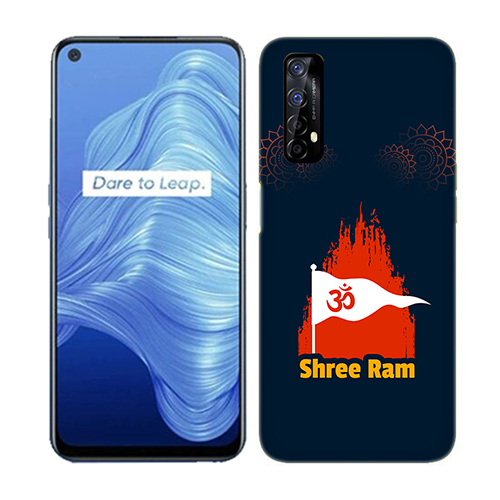 Shiv Ram Dhvaj Mobile Phone Back Cover for Realme 7