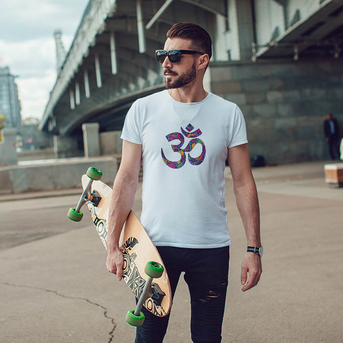 Best Design OM t-shirt for men