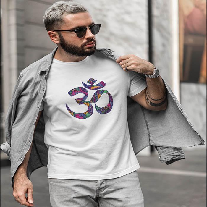 Best Design OM t shirt for men