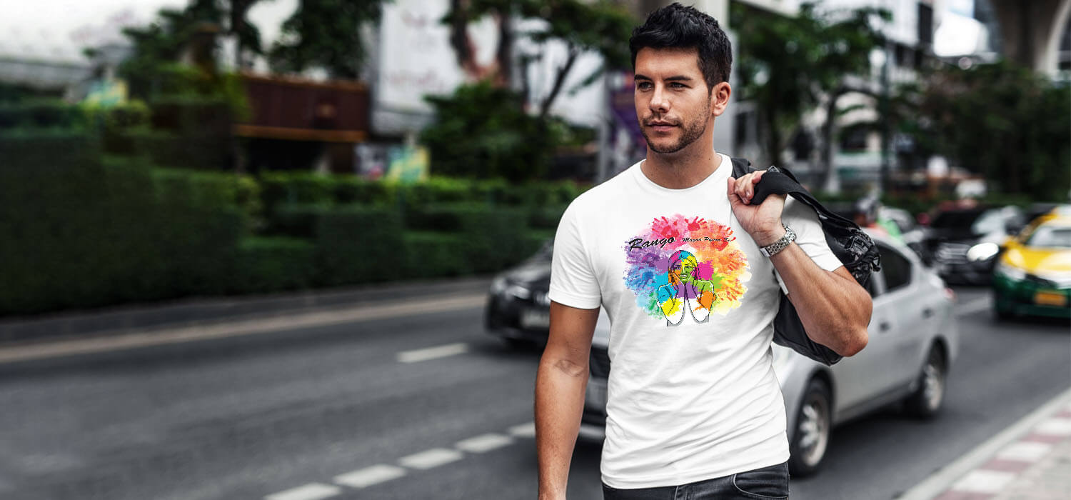 Holi Quotes best t shirt for men