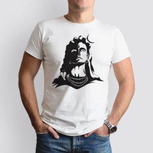 Lord Shiva Black Shadow t-shirt for men