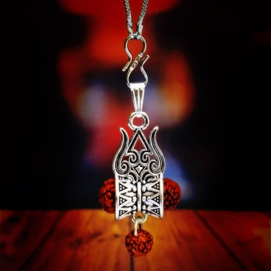 Lord Shiva Trishul Locket