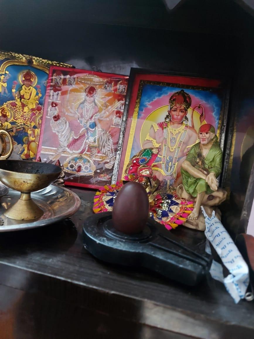 Namradeshwar shivling home temple