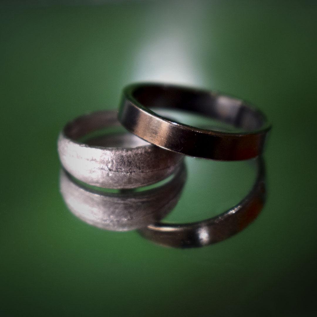 Buy Original Kaale Ghode ki Naal ki Ring with Ranga Ring Online