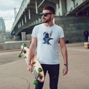 Shivling Sketch t shirt for men
