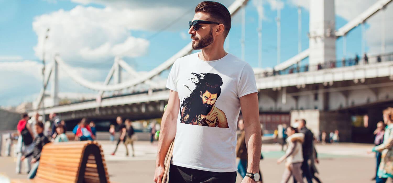 Stylish Shiva Sketch best t shirt for men