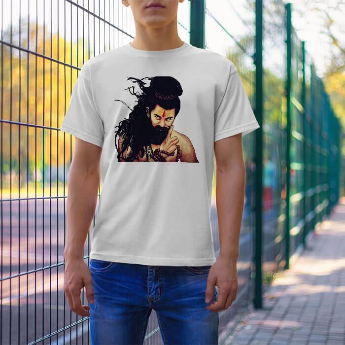 Stylish Shiva Sketch men t shirt