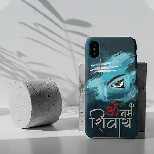 OM Namah Shivay Graphic Phone Case For All Mobile Phones