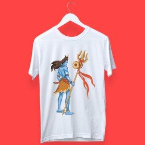 shiva portrait t shirt
