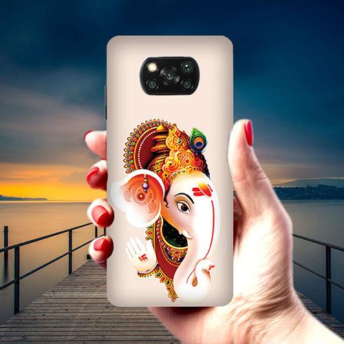 Ganesha Phone Cover for Xiaomi Poco X3