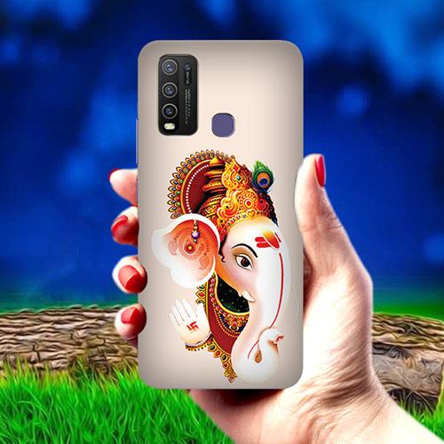 Ganesha Mobile Phone Cover for Vivo Y50
