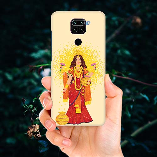 Maa Laxmi Phone Cover for Redmi Note 9