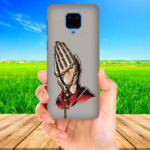 Cross Prayer Phone Cover for Xiaomi Poco M2 Pro