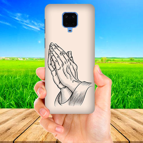 Prayer Sketch Phone Cover for Xiaomi Poco M2 Pro