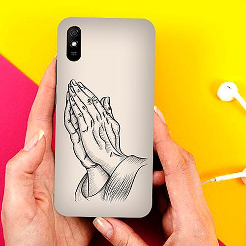 Prayer Sketch Phone Cover for Xiaomi Redmi 9A Cases