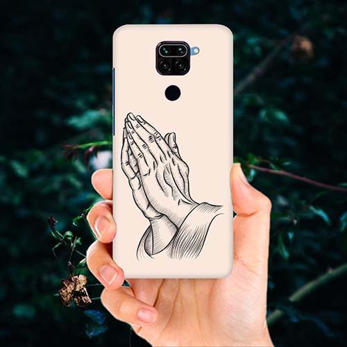 Prayer Sketch Phone Cover for Redmi Note 9
