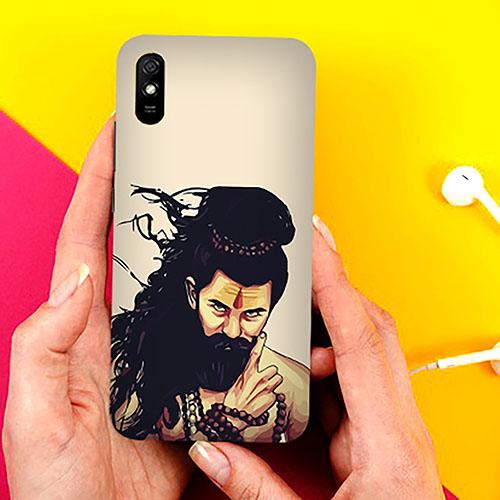Bearded Mahadev Phone Cover for Xiaomi Redmi 9A Cases