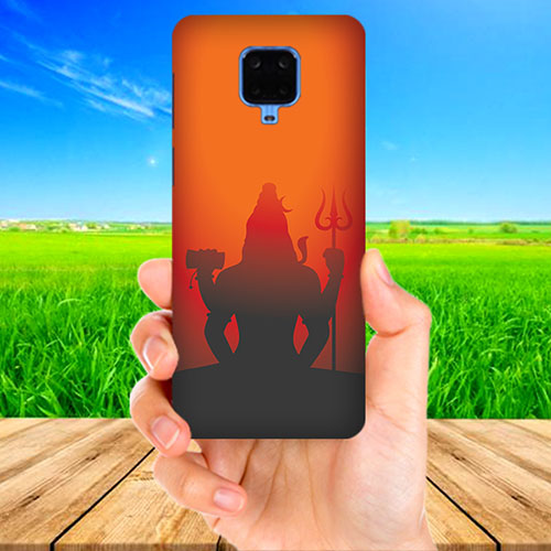 Mahadev Shadow in Sunset Phone Cover for Xiaomi Poco M2 Pro