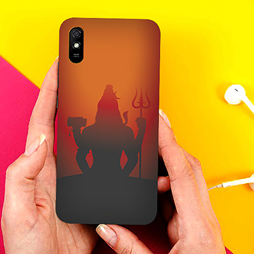 Mahadev Shadow in Sunset Phone Cover for Xiaomi Redmi 9A Cases