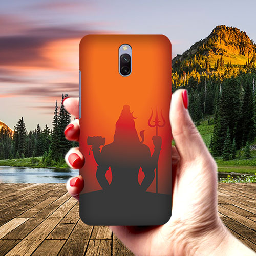 Mahadev Shadow in Sunset Phone Cover for Xiaomi Redmi 8A Dual
