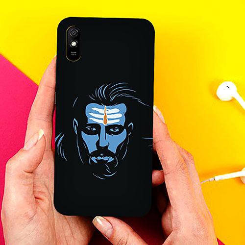 Mahadev Blue Phone Cover for Xiaomi Redmi 9A Cases