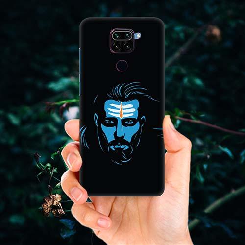 Mahadev Blue Phone Cover for Redmi Note 9