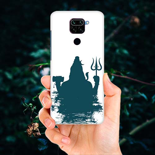 Shiva Blue shadow Phone Cover for Redmi Note 9