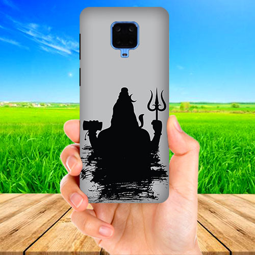 Mahadev Black Shadow Phone Cover for Xiaomi Poco M2 Pro
