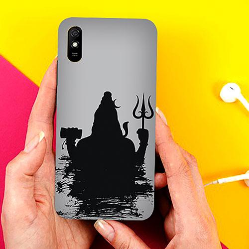 Mahadev Black Shadow Phone Cover for Xiaomi Redmi 9A Cases