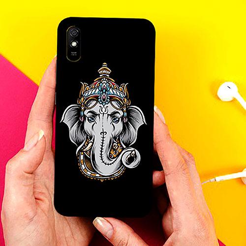 Ganesha Dark Phone Cover for Xiaomi Redmi 9A Cases