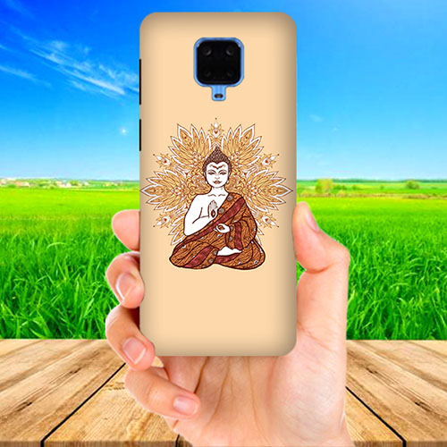 Meditating Buddha Phone Cover for Xiaomi Poco M2 Pro