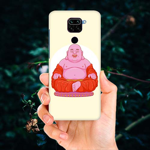 Laughing Buddha Phone Cover for Redmi Note 9
