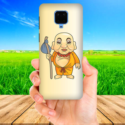 Walking Budhha Phone Cover for Xiaomi Poco M2 Pro