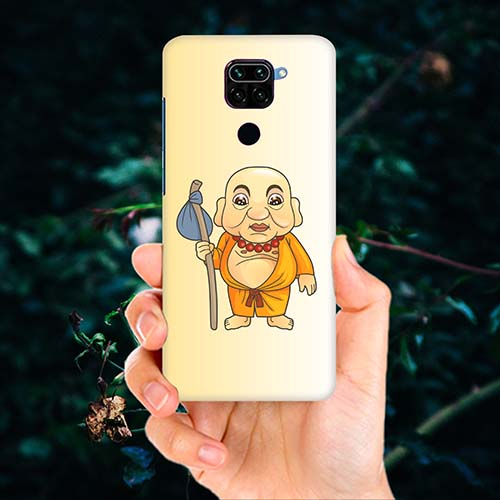 Walking Buddha Phone Cover for Redmi Note 9